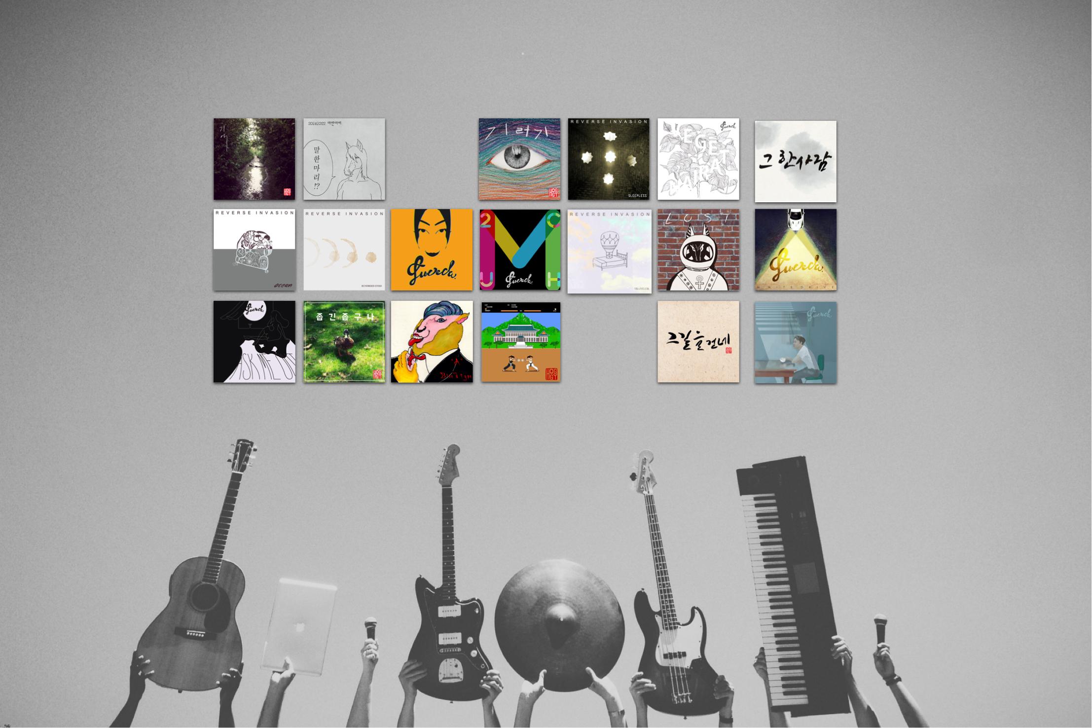 Album titles